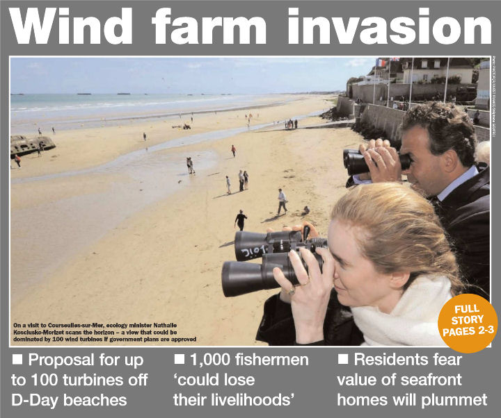 Wind farm invasion