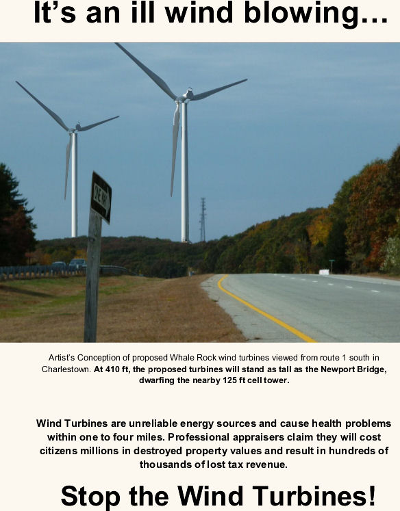 It's an ill wind blowing... Stop the Wind Turbines!